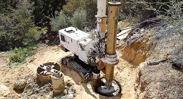 La Canada Flintridge Drilling Contractor | Foundations | Caissons | Shoring | Utilities | californiadrillingcompany.com