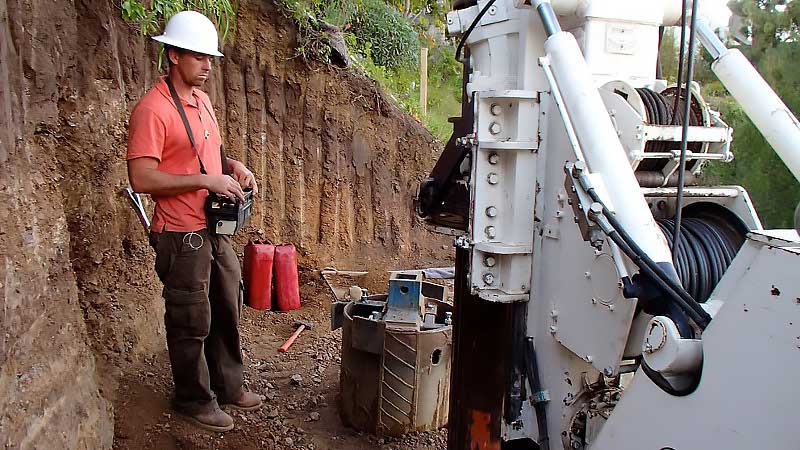 Caisson Drilling, COASTLINE Engineering and Development Group