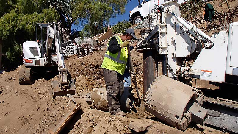 COASTLINE Engineering and Development Group- Hillside Drilling and Grading