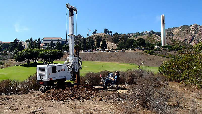 Beverly Hills Retaining Wall Contractor | Grade Beams | Foundations | californiadrillingcompany.com