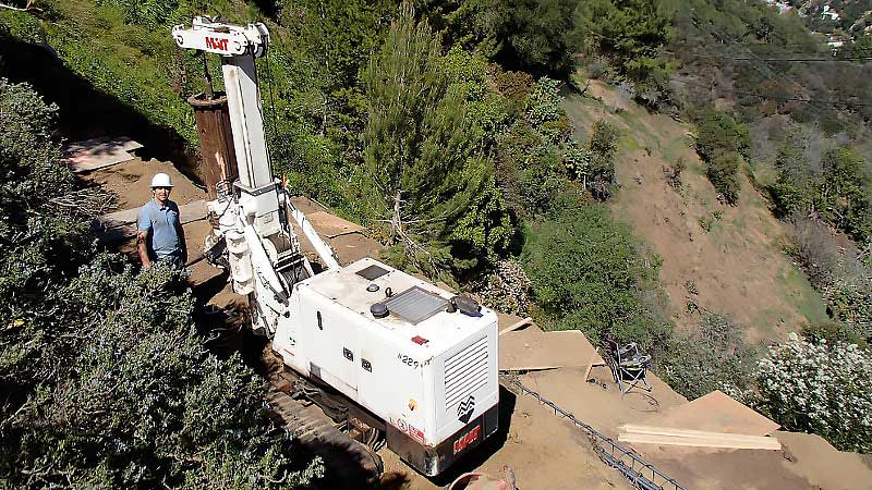 Limited Access Drilling- COASTLINE Engineering and Development Group